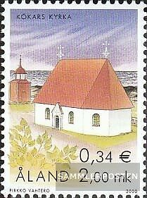 Finland-Aland 182 (complete issue) unmounted mint / never hinged 2000 Church of