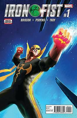 Iron Fist #1 Dekal Trial of the Seven Masters Part One Marvel 2017