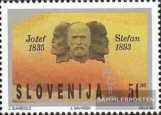 slovenia 38 (complete issue) unmounted mint / never hinged 1993 100. Death Jozef
