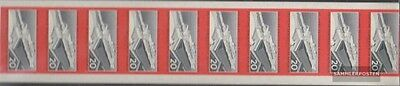 DDR 805B Complete Zehnerstreifen unmounted mint / never hinged 1960 Railway