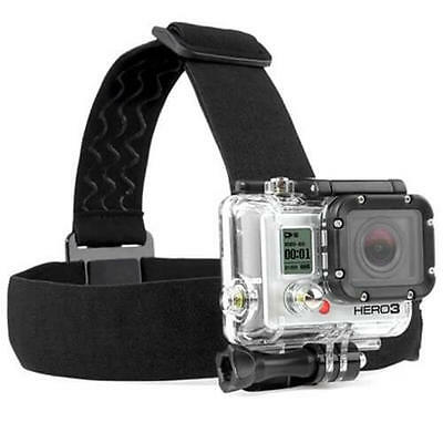 New Antiskid Head Mount Strap for Gopro Xiaomi yi Action Camera US