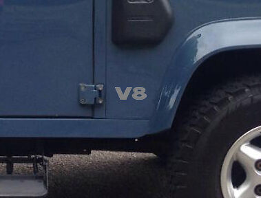 V8 Land Rover Defender Decals / Stickers X3 Restoration Sticker Non OEM