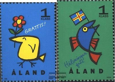 Finland-Aland 107-108 (complete issue) unmounted mint / never hinged 1996 Grußma