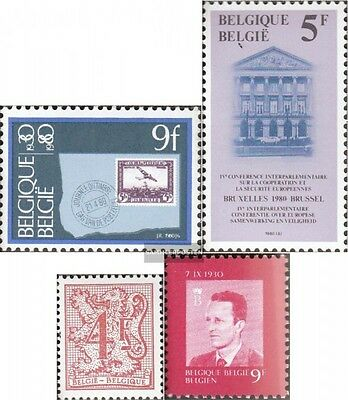 Belgium 2022,2026,2035,2038 mint never hinged mnh 1980 special stamps