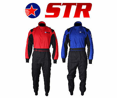 STR Oval Start Race Suit Single Layer SFI Approved 3.2A/1 and Proban Treated