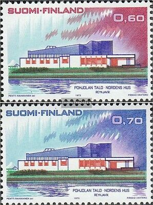 Finland 724-725 (complete issue) unmounted mint / never hinged 1973 House of Nor