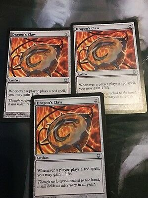 MTG Dragon's Claw X 3