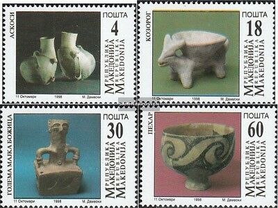 makedonien 122-125 mint never hinged mnh 1998 Archaeological Finds