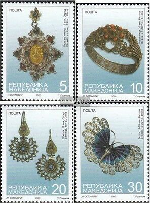 makedonien 189-192 mint never hinged mnh 2000 silver jewelry