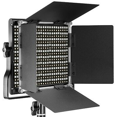 Neewer Professional Metal Bi-color LED Video Light for Studio Video, YouTube etc