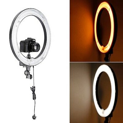 "Neewer Photo Ring Fluorescent Flash Light Kit includes(1)18"" Dimmable 75W Ring"