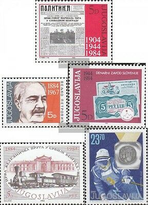 Yugoslavia 2023,2024,2043,2044,2045 (complete issue) unmounted mint / never hing