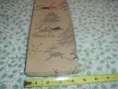 Collectible Vintage Gimbels Department Store Box,Box Only.