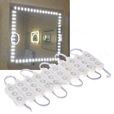 RF Wireless Dimmer LED Mirror Lighted Cosmetic Makeup Vanity Light Lamp W/ Power