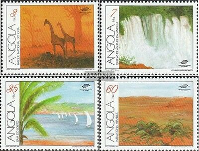 angola 850-853 (complete.issue.) unmounted mint / never hinged 1991 Tourism