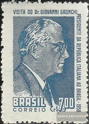 Brazil 944 (complete.issue.) unmounted mint / never hinged 1958 Giovanni Gronchi