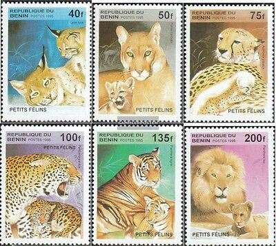 Benin 704-709 unmounted mint / never hinged 1995 Cats