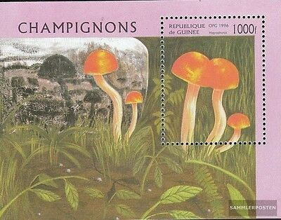 Guinea Block505 (complete.issue.) unmounted mint / never hinged 1996 Mushrooms