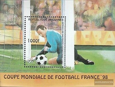 Guinea Block506 (complete.issue.) unmounted mint / never hinged 1997 Football-WM