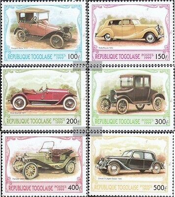 Togo 2882-2887 (complete.issue.) unmounted mint / never hinged 1999 Historical A