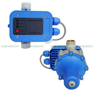 Automatic Water Pump Pressure Controller Electronic Electric Switch ON OFF US