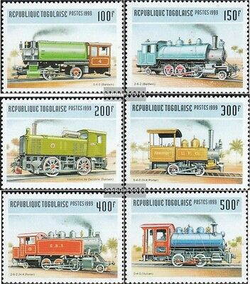Togo 2809-2814 unmounted mint / never hinged 1999 Old Locomotives