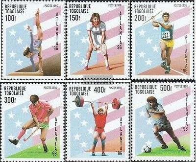 Togo 2382-2387 (complete.issue.) unmounted mint / never hinged 1996 Olympics Sum