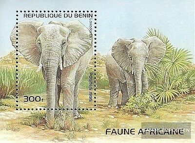 Benin block13 (complete.issue.) unmounted mint / never hinged 1995 Mammals Afric