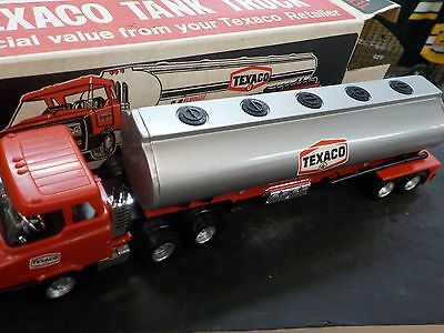 Vintage Texaco Model Toy Tank Truck with Original Box - RARE
