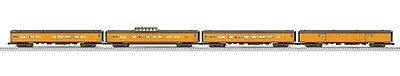 "4 pk Lionel Union Pacific 18"" Aluminum Passenger City of Los Angeles  6-20010"