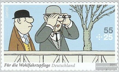 FRD (FR.Germany) 2843 (complete.issue.) selbstklebende issueabe fine used / canc