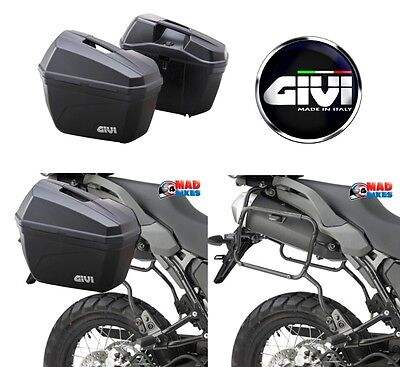Yamaha Mt09 Tracer 2015 > Onwards Givi Plr2122 Pannier Rack & E22N Pannier Set