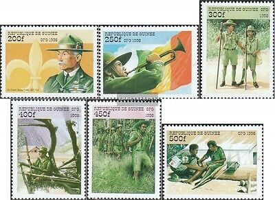 Guinea 2205-2210 (complete.issue.) unmounted mint / never hinged 1998 Scouts-Org