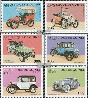 Guinea 1797-1802 (complete.issue.) unmounted mint / never hinged 1998 Old Automo