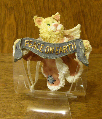 Boyds Purrstone Resin Ornament 271802 Felicity Angelpuss 1 Ed. From Retail Store