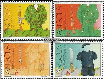 angola 842A-845A (complete.issue.) unmounted mint / never hinged 1991 freedom fi