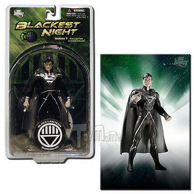 DC Direct Blackest Night Series 7 Black Lantern Superman 6-Inch Action Figure