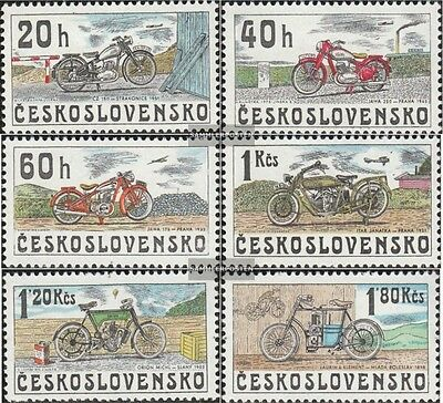 Czechoslovakia 2272-2277 (complete issue) unmounted mint / never hinged 1975 Mot