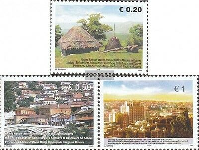 kosovo (UN-Administration) 35-37 mint never hinged mnh 2005 Traditonal Siedlungs