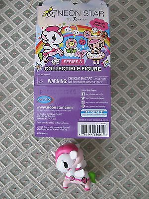 NEW Neon Star By Tokidoki Series 3 Collectible Vinyl Figure: Ruby with BOX