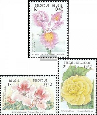 Belgium 2954-2956 (complete.issue.) unmounted mint / never hinged 2000 Flowers