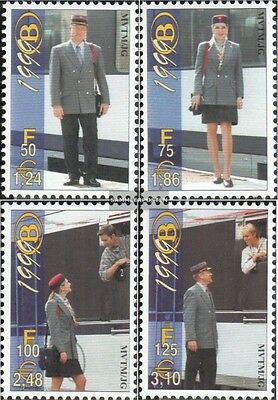 Belgium E1/1999-E4/1999 (complete.issue.) unmounted mint / never hinged 1999 Eis