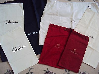 Cole Haan (Seven) Shoes & Handbag Fabric Drawstring Dust Bags