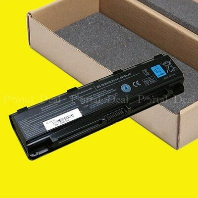 New Battery Pack For TOSHIBA Satellite C55-A5249 C70-AST3NX2 C75D-A7213 6 cell