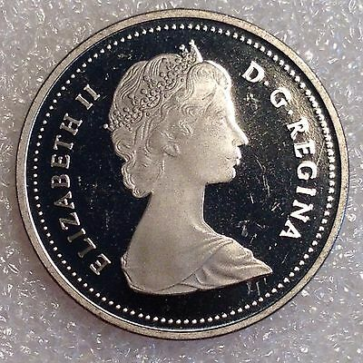 Canada 5 Cents 1987 PROOF