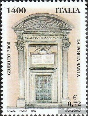 Italy 2622 (complete.issue.) unmounted mint / never hinged 1999 Holy Year 2000