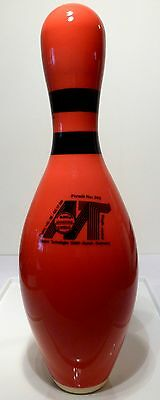 Rare Orange MT Bowling pin made in Germany ABC WIBC approved
