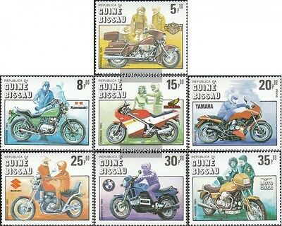 Guinea-Bissau 834-840 (complete.issue.) unmounted mint / never hinged 1985 100 y