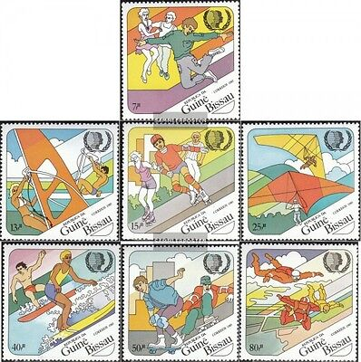 Guinea-Bissau 889-895 (complete.issue.) unmounted mint / never hinged 1985 Year