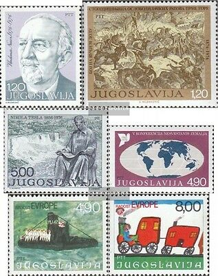 Yugoslavia 1647,1648,1655,1663, 1664-1665 (complete.issue.) unmounted mint / nev